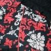 Дождевик черно/красный мопс для девочек весенне-осенний непромокаемый для собак породы мопс, французский бульдог, бигль, джек рассел, кокер спаниэль, фокстерьер, цвергшнауцер, шарпей, пудель, амстафф, бультерьер, лабрадор