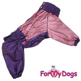 Дождевик розовый металлик для девочек