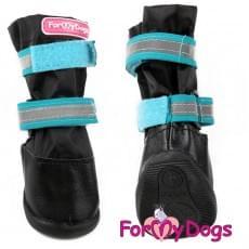 Ботиночки Черно-синие