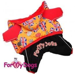 Комбинезон Флаги зимний для собак