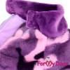 Комбинезон Гламур утепленный для собак породы йоркширский терьер, мальтезе, чихуахуа, шпиц, ши-тцу, папильон, пекинес, той пудель, пинчер, фокстерьер, цвергшнауцер, кокер спаниель