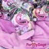 Комбинезон Красивые узоры теплый для собак породы йоркширский терьер, мальтезе, чихуахуа, шпиц, ши-тцу, папильон, пекинес, той пудель, пинчер, фокстерьер, цвергшнауцер, кокер спаниель