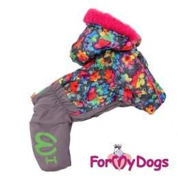 Комбинезон Лилии зимний для собак