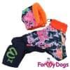 Комбинезон Маленькие краски зимний для собак породы йоркширский терьер, мальтезе, чихуахуа, шпиц, ши-тцу, папильон, пекинес, той пудель, пинчер, фокстерьер, цвергшнауцер, кокер спаниель