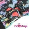 Комбинезон Маленькие Бабочки утепленный для собак породы йоркширский терьер, мальтезе, чихуахуа, шпиц, ши-тцу, папильон, пекинес, той пудель, пинчер, фокстерьер, цвергшнауцер, кокер спаниель