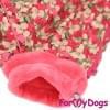 Комбинезон Фиалка утепленный для собак породы йоркширский терьер, мальтезе, чихуахуа, шпиц, ши-тцу, папильон, пекинес, той пудель, пинчер, фокстерьер, цвергшнауцер, кокер спаниель