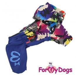 Дождевик Радуга непромокаемый для собак