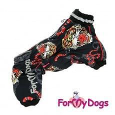 Дождевик Тигр непромокаемый для собак