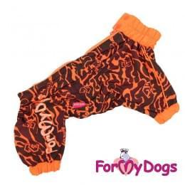 Дождевик Тигра непромокаемый для собак