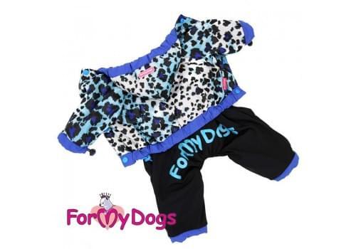 Дождевик Лео непромокаемый для собак породы йоркширский терьер, мальтезе, чихуахуа, шпиц, ши-тцу, папильон, пекинес, той пудель, пинчер, фокстерьер, цвергшнауцер, кокер спаниель