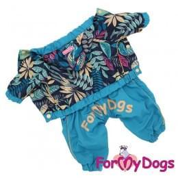 Дождевик Листик непромокаемый для собак