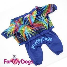 Дождевик Павлин непромокаемый для собак
