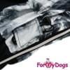 Дождевик Дым непромокаемый для собак породы йоркширский терьер, мальтезе, чихуахуа, шпиц, ши-тцу, папильон, пекинес, той пудель, пинчер, фокстерьер, цвергшнауцер, кокер спаниель