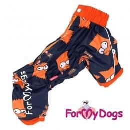 Дождевик Симпсоны непромокаемый для собак