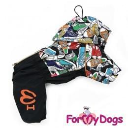 Дождевик Кеды непромокаемый для собак