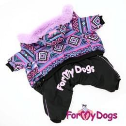 Комбинезон Фиолетик зимний для собак