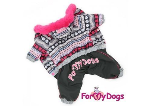 Комбинезон Малютка зимний для собак породы йоркширский терьер, мальтезе, чихуахуа, шпиц, ши-тцу, папильон, пекинес, той пудель, пинчер, фокстерьер, цвергшнауцер, кокер спаниель