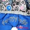 Комбинезон Compik зимний для собак породы йоркширский терьер, мальтезе, чихуахуа, шпиц, ши-тцу, папильон, пекинес, той пудель, пинчер, фокстерьер, цвергшнауцер, кокер спаниель