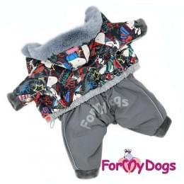 Комбинезон Снупимен зимний для собак