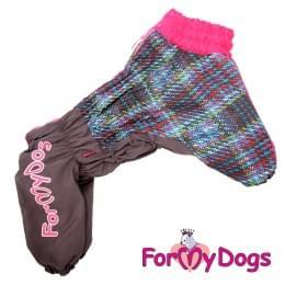 Комбинезон LuckyPiksel теплый для собак
