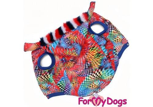 Куртка Kiss зимняя для собак породы мопс, французский бульдог, бигль, вест хайленд терьер, джек рассел, кокер спаниэль, фокстерьер, цвергшнауцер, шарпей, шотландский терьер, пудель, амстафф, бультерьер, лабрадор, ретривер