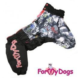 Комбинезон FlyMyDogs теплый для собак