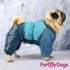 Комбинезон BlueSiDog теплый для собак породы мопс, французский бульдог, бигль, вест хайленд терьер, джек рассел, кокер спаниэль, фокстерьер, цвергшнауцер, шарпей, шотландский терьер, пудель, амстафф, бультерьер, лабрадор, ретривер