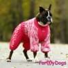 Комбинезон LuckyPink теплый для собак породы мопс, французский бульдог, бигль, вест хайленд терьер, джек рассел, кокер спаниэль, фокстерьер, цвергшнауцер, шарпей, шотландский терьер, пудель, амстафф, бультерьер, лабрадор, ретривер