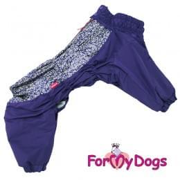 Комбинезон фиолетовый для мальчиков