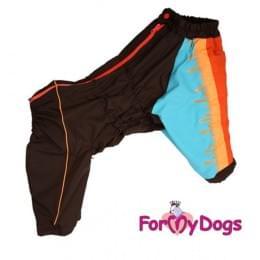 Комбинезон Краски утепленный на флисе для собак
