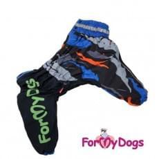 Комбинезон Искра утепленный для собак