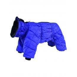 Стеганный комбинезон JackyDogy на мальчика зимний на синтепоне и флисе для собак