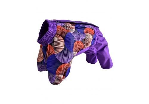 Комбинезон Gipnoz мембранный демисезонный на флисе для собак породы мопс, французский бульдог, английский бульдог, американский булли