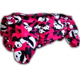 Дождевик Вельш-Корги PinkPanda непромокаемый для собак