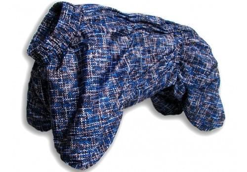 Комбинезон BluePauchek демисезонный на флисе для собак породы мопс, французский бульдог, английский бульдог, американский булли