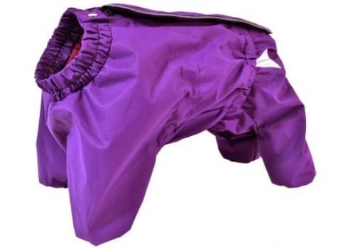 Комбинезон VioletRosa мембранный демисезонный на флисе для собак породы мопс, французский бульдог, английский бульдог, американский булли