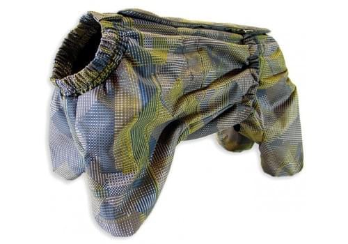 Комбинезон Matrix мембранный демисезонный на флисе для собак породы мопс, французский бульдог, английский бульдог, американский булли