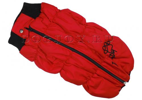 Жилет Dog J Red для мопса, французского бульдога, английского бульдога
