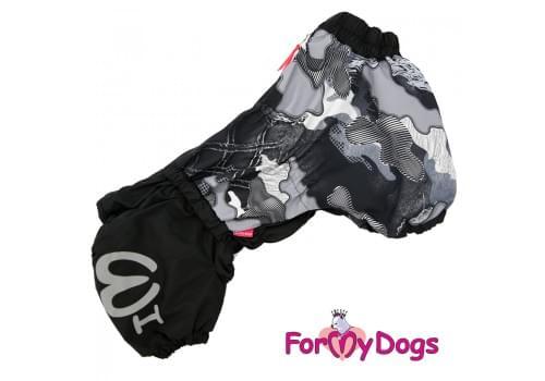 Комбинезон KorgiGray теплый для собак породы корги