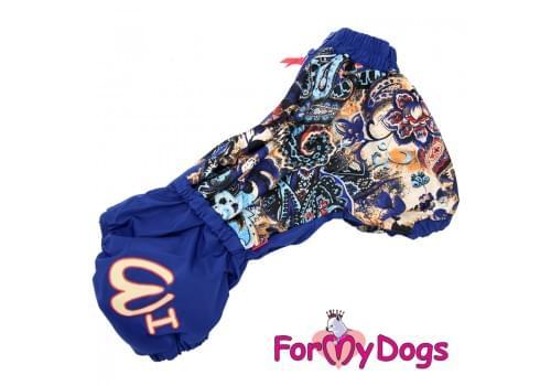 Комбинезон KorgiFlowers теплый для собак породы корги