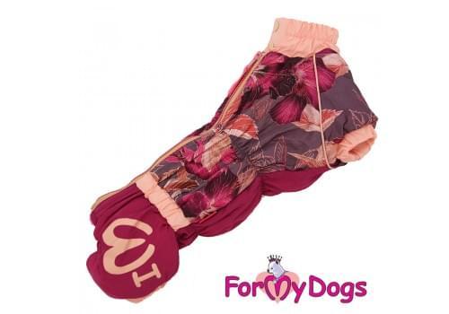 Комбинезон LiliiTaksa теплый для собак породы такса