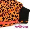 Комбинезон LeoTaksa теплый для собак породы такса