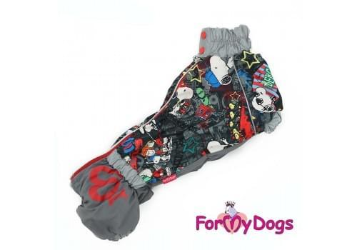 Комбинезон SnoopyTaksa утепленный для собак породы такса
