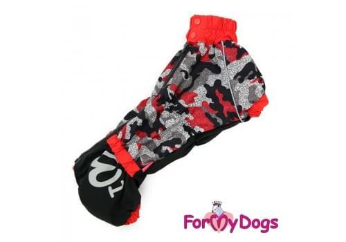 Комбинезон RedTaksa теплый для собак породы такса