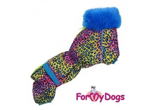 Комбинезон LuckyLeo теплый для собак породы такса