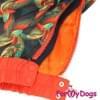 Комбинезон PrintTaksa теплый для собак породы такса