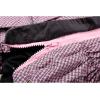 Дождевик Pink непромокаемый с капюшоном для собак породы мопс, французский бульдог, бигль, вест хайленд терьер, джек рассел, кокер спаниэль, фокстерьер, цвергшнауцер, шарпей, шотландский терьер