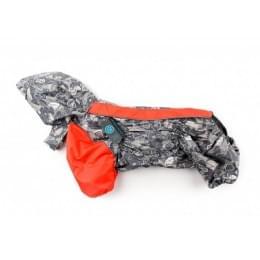 Дождевик Winter непромокаемый с капюшоном для собак