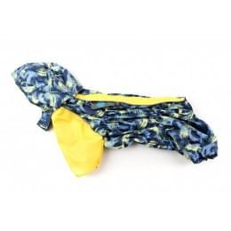 Дождевик Лаки осенний с капюшоном для собак