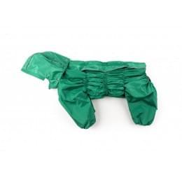 Дождевик Green непромокаемый с капюшоном для собак